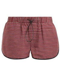 The Upside - Rum And Raisin Linen-blend Shorts - Lyst