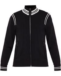 Neil Barrett - Sweat-shirt zippé à rayures - Lyst