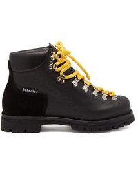 Proenza Schouler - Lace-up Leather Après-ski Boots - Lyst