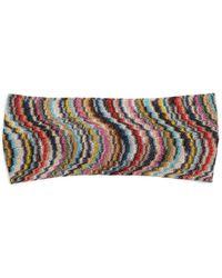 Missoni | Waved Knitted Headband | Lyst
