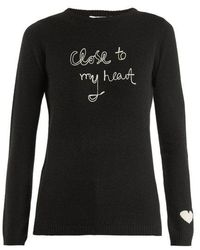 Bella Freud - Close To My Heart Cashmere Sweater - Lyst