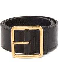 Alexander McQueen - Buckled Leather Corset Belt - Lyst
