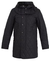 Burberry - Hooded Quilted Field Jacket - Lyst
