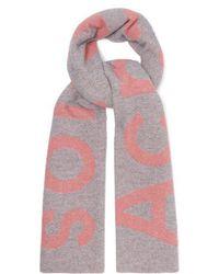 Acne Studios - Toronto Large Bi Colour Wool Scarf - Lyst