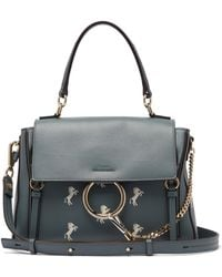 Chloé - Faye Day Little Horses Leather Shoulder Bag - Lyst