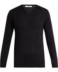 Adam Lippes - V-neck Wool Sweater - Lyst
