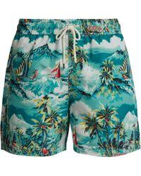 Polo Ralph Lauren - Hawaii Print Swim Shorts - Lyst