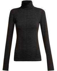 Falke - Thermal Roll Neck Performance Top - Lyst