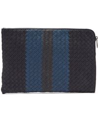 Bottega Veneta - Intrecciato Leather Document Holder - Lyst