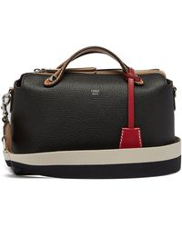 Fendi - By The Way Tri Colour Leather Cross Body Bag - Lyst