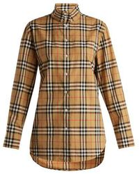 Burberry - Starling Cotton Shirt - Lyst
