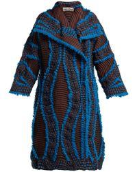 Issey Miyake - Eagle Pleated Coat - Lyst