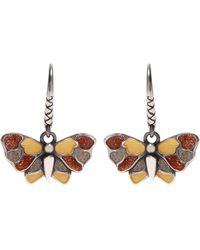Bottega Veneta | Butterfly Sterling-silver Earrings | Lyst