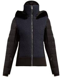 Fusalp - Athena Quilted Panel Ski Jacket - Lyst
