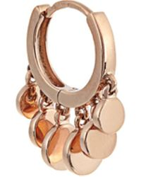 Jacquie Aiche   Rose-gold Earring   Lyst