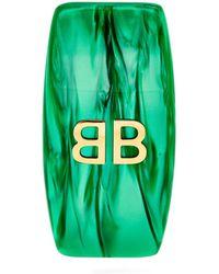 Balenciaga | Logo Single Clip Earring | Lyst