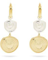 Ellery - Aegean Brass Drop Earrings - Lyst