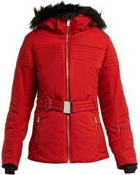 Fusalp - Belted Padded Ski Jacket - Lyst