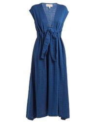 Mara Hoffman - Katinka Tie-waist Cotton Dress - Lyst