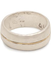 Aris Schwabe - Silver N Gold Sterling-silver Ring - Lyst