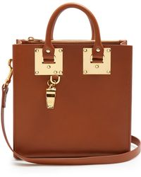 Sophie Hulme - Albion Square Leather Bag - Lyst
