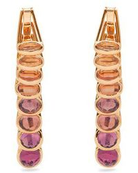 Marie Mas - Reversible Multi-stone & Pink-gold Earrings - Lyst