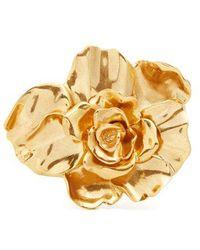 Oscar de la Renta - Rose Bracelet - Lyst