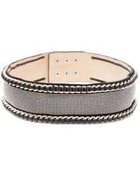 Balmain - Chain And Strass-embellished Waist Belt - Lyst