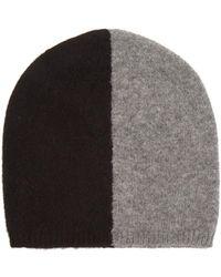 Denis Colomb - Bi-colour Cashmere Beanie Hat - Lyst