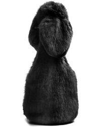 Simone Rocha - Bow-tied Faux-fur Shoulder Bag - Lyst