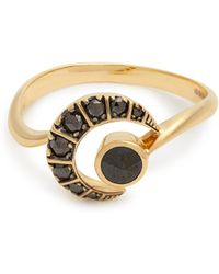 Ara Vartanian - X Kate Moss Diamond & Gold Ring - Lyst