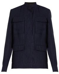 Haider Ackermann - Agrippina Single-breasted Linen Jacket - Lyst