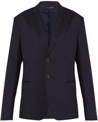 Giorgio Armani - Slim-fit Virgin-wool Suit Jacket - Lyst