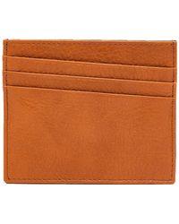 Maison Margiela - Bi-colour Grained Leather Cardholder - Lyst