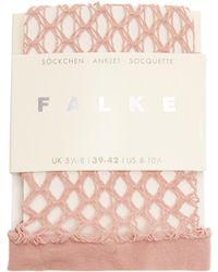 Falke - Gill Fishnet Socks - Lyst