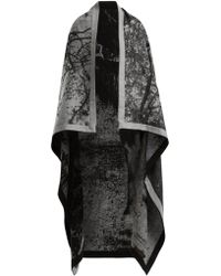 Mary McCartney - Horse Print Wool And Silk Blend Blanket Scarf - Lyst