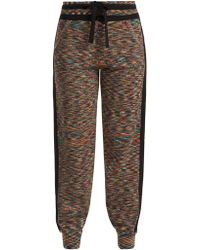 Missoni - Side Stripe Cashmere Track Pants - Lyst