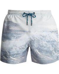Marané - The Splash-print Swim Shorts - Lyst