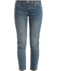 A.P.C. - Etroit Court Low Rise Skinny Jeans - Lyst