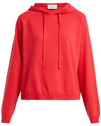 Allude - Cashmere Hooded Sweater - Lyst