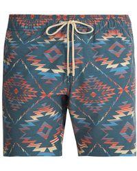 Faherty Brand - Chankillo Aztec Print Swim Shorts - Lyst