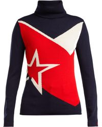 Perfect Moment - Super Day Star-jacquard Wool Jumper - Lyst