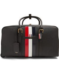 Thom Browne - Pebbled Leather Holdall - Lyst