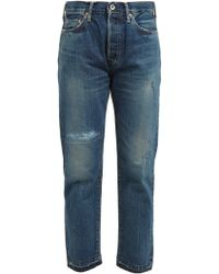 Chimala - Distressed Straight Leg Jeans - Lyst