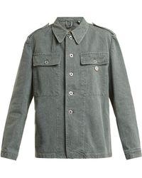 MYAR - Oversized Denim Army Jacket - Lyst