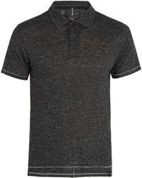 Rag & Bone - Owen Linen Polo Shirt - Lyst