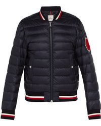 Moncler - Deltour Down Filled Bomber Jacket - Lyst