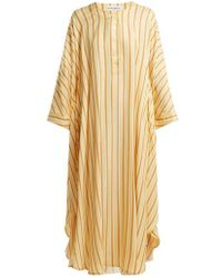 Sonia Rykiel - Round-neck Striped Kaftan - Lyst