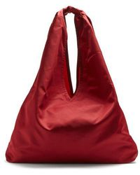 The Row - Bindle Nylon Shoulder Bag - Lyst