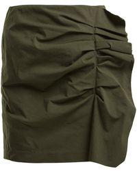 Isabel Marant - Lefly Asymmetric Ruffle Mini Skirt - Lyst